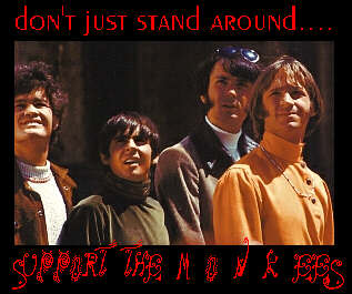 support the monkees